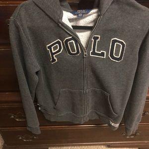 Polo cotton jacket